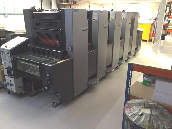Heidelberg SM 52 5 P Five Colour Press