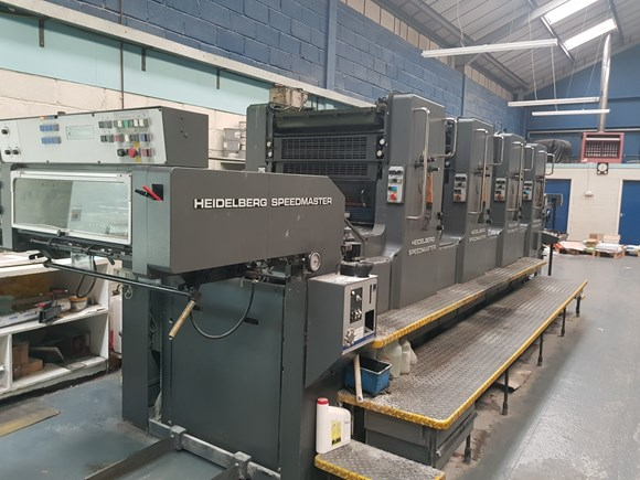 Heidelberg Speedmaster 72VP Four Colour Offset Press
