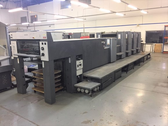 Heidelberg SM 74 4 P3 + LX Four Colour Offset Press