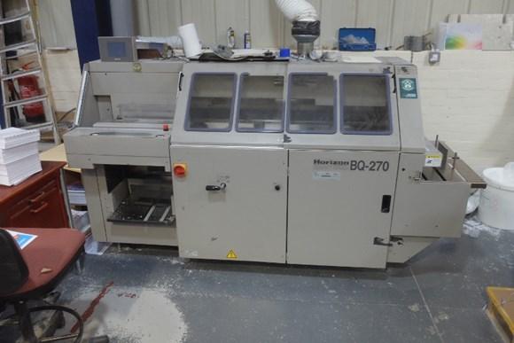 Horizon BQ - 270 Single Clamp Binder