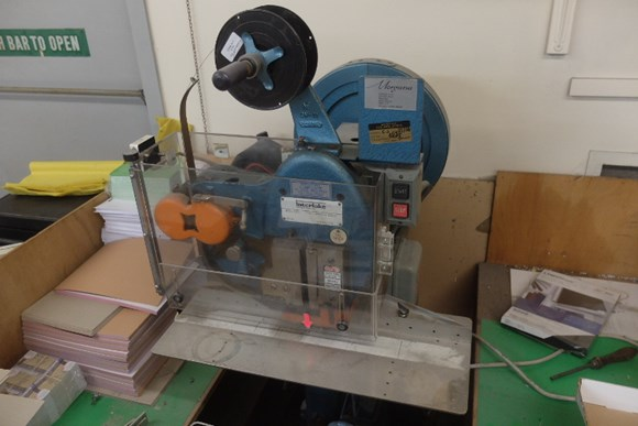 Interlake Hand Fed Wire Stitching Machine