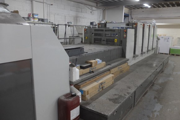 Komori Lithrone LS 429 + LX Four Colour Offset Press