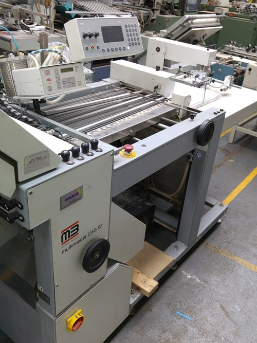 MB Multimaster CAS 38 Folding Machine