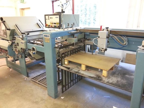 MBO K72 4-KTL Folding Machine