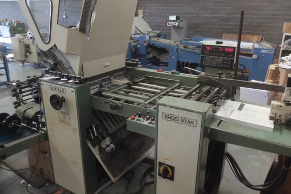 Shoei Star K52 Folding Machine