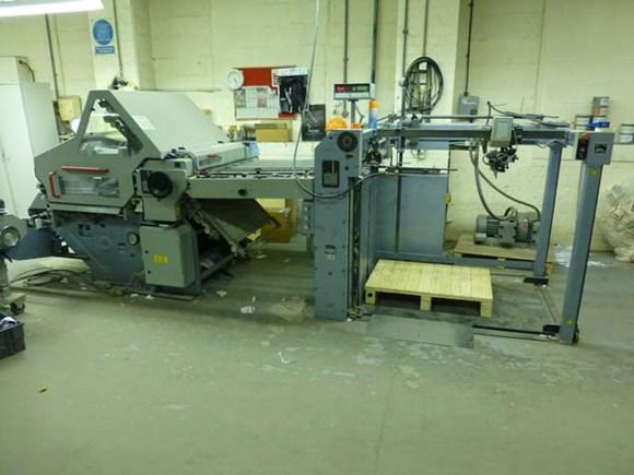 Heidelberg Stahl KC 78 4 KLL 32 pp Fully Automatic Folding Machine