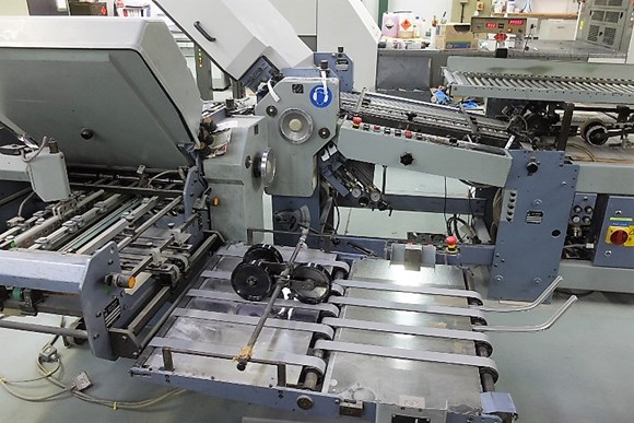 Stahl T52 4/4/K Fully Automatic folding Machine