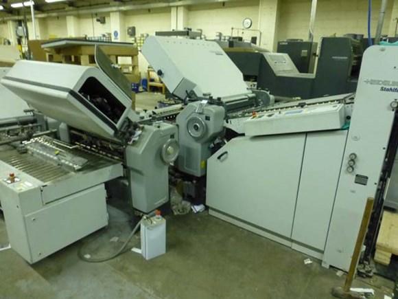 Heidelberg Stahl TD 78 6/4/2 Fully Automatic Folding Machine