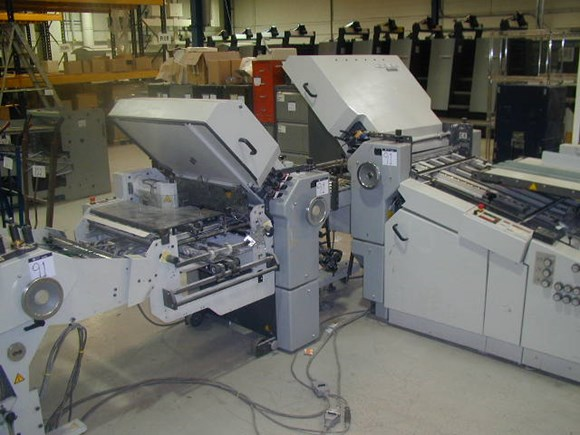 Stahl TI55 4/4/K Folding Machine