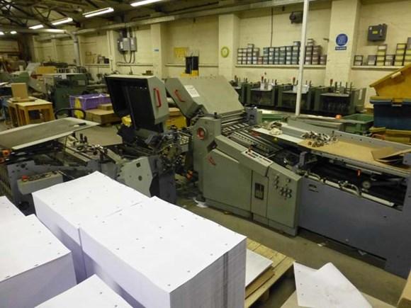 Heidelberg Stahal Ti 56 6/4 Fully Automatic Folding Machine