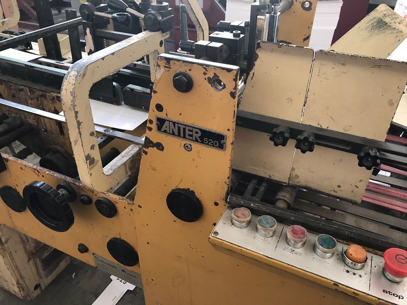 Anter Straight Line Glueing Machine