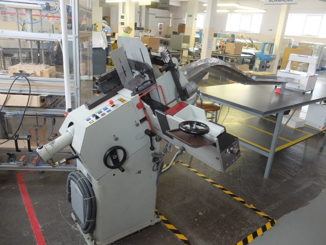 Blumer D-18M Label Punch Machine