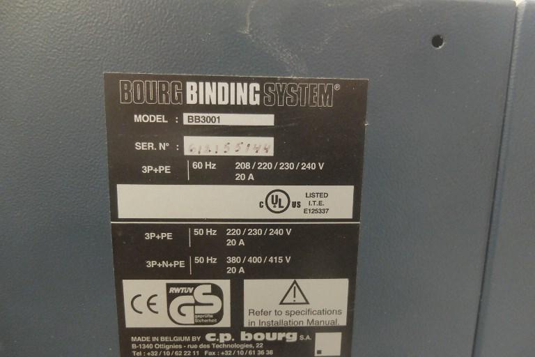 Bourg BB3001 Perfect Binding Machine