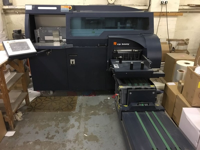 Bourg BB3002 EVA / Hot Melt Fully Automatic Perfect Binder