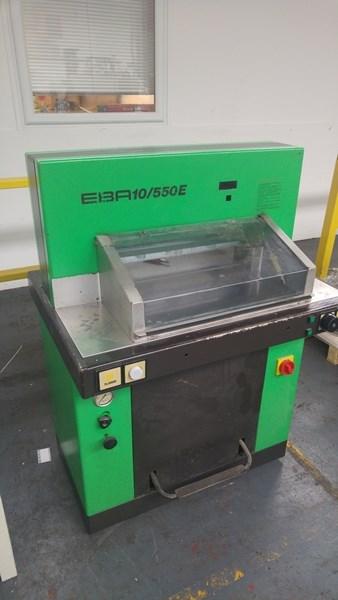 EBA 10/550 E Programmatic Guillotine