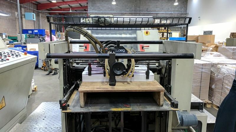 Gietz FSA 790S Hot Foil Stamping Machine