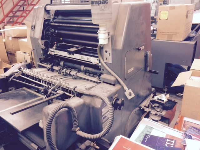 Heidelberg GTO 52 + Single Colour Offset Press