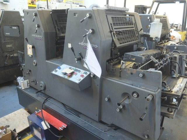 Heidelberg GTO PM 52-2-P Two Colour Offset Press