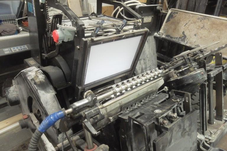 Heidelberg GTP Hot Foil Platen