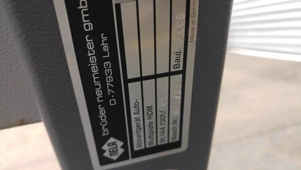 Heidelberg B1 Plate Bender
