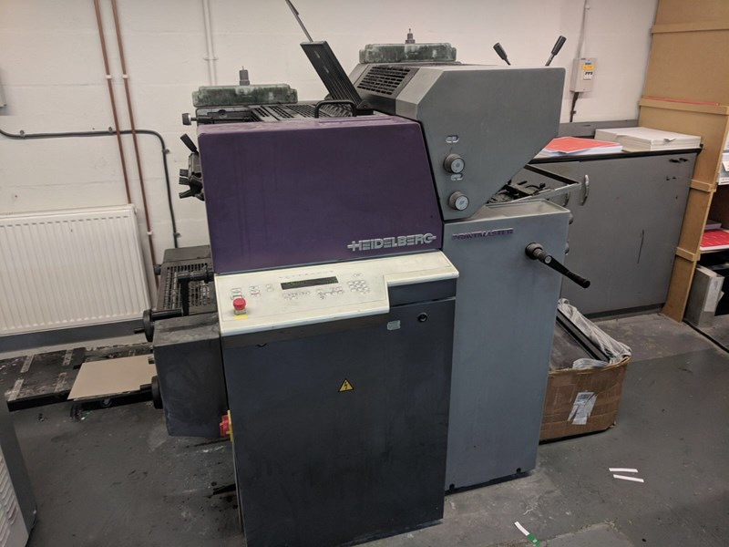 Heidelberg QM 46 2 Two Colour Offset Press