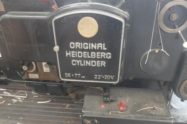 Heidelberg Cylinder SBG