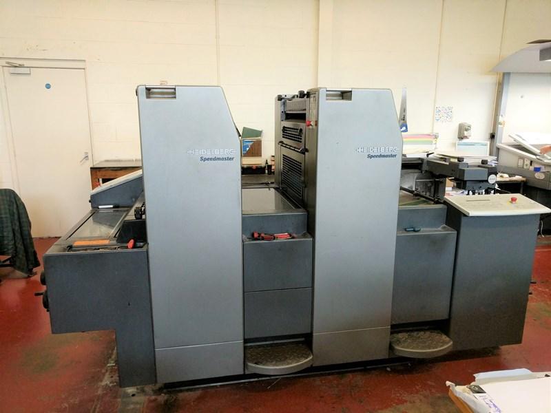 Heidelberg SM 52 2 P Two Colour Offset Press