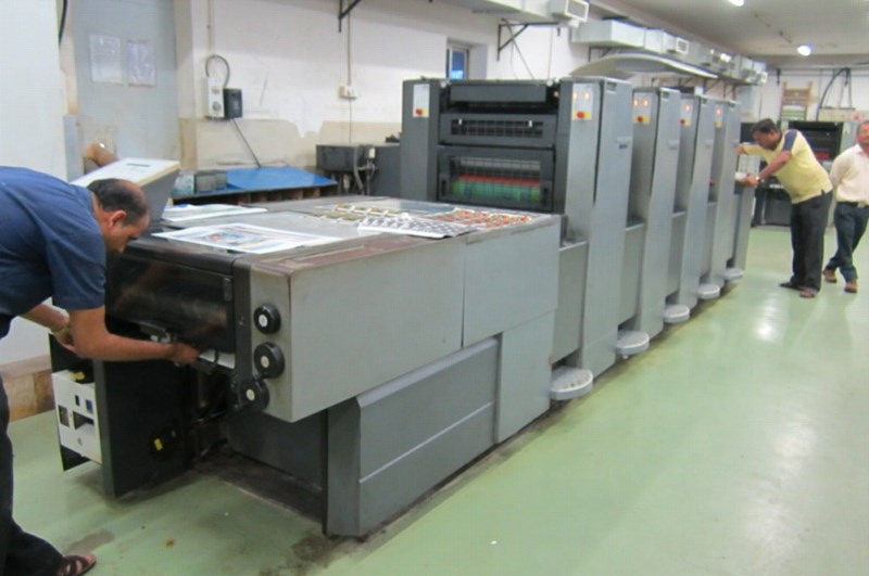 Heidelberg Speedmaster SM 52 4H Four Colour Offset Press