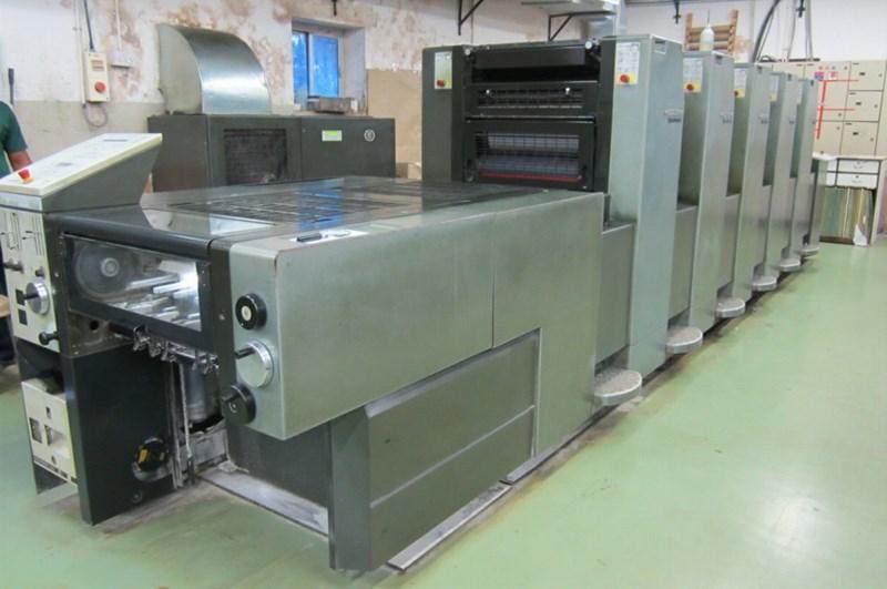 Heidelberg Speedmaster SM 52 5H Five Colour Offset Press
