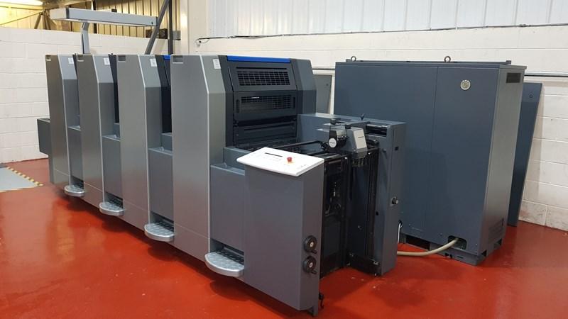 Heidelberg SM 52 4 Four Colour Offset Press