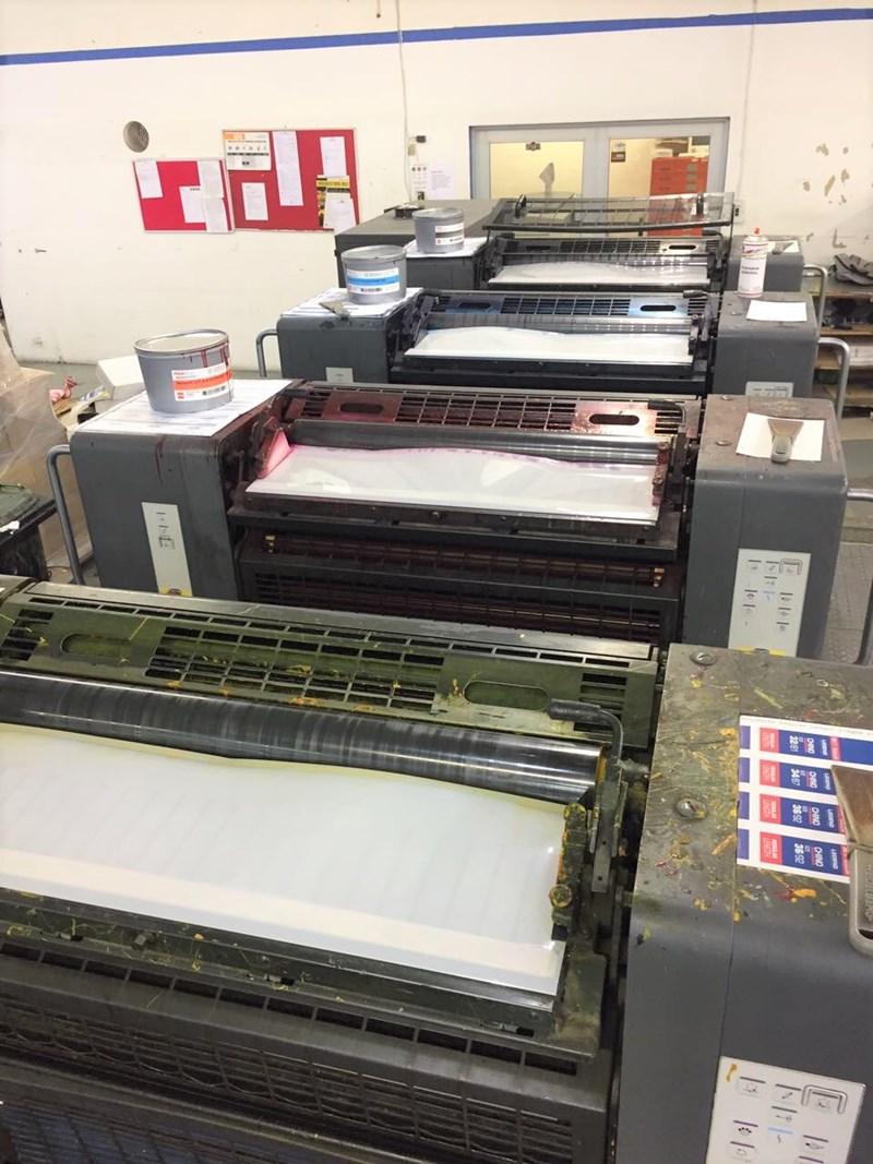 Heidelberg SM 74 4 H Four Colour Offset Press
