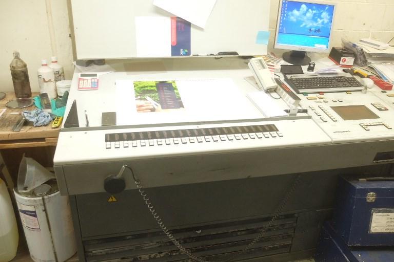 Heidelberg Speedmaster 74 5 P3 Five Colour Offset Press