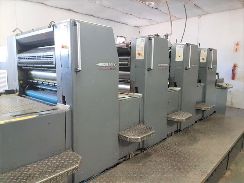 Heidelberg SM 74 4 + LX Four Colour Offset Press