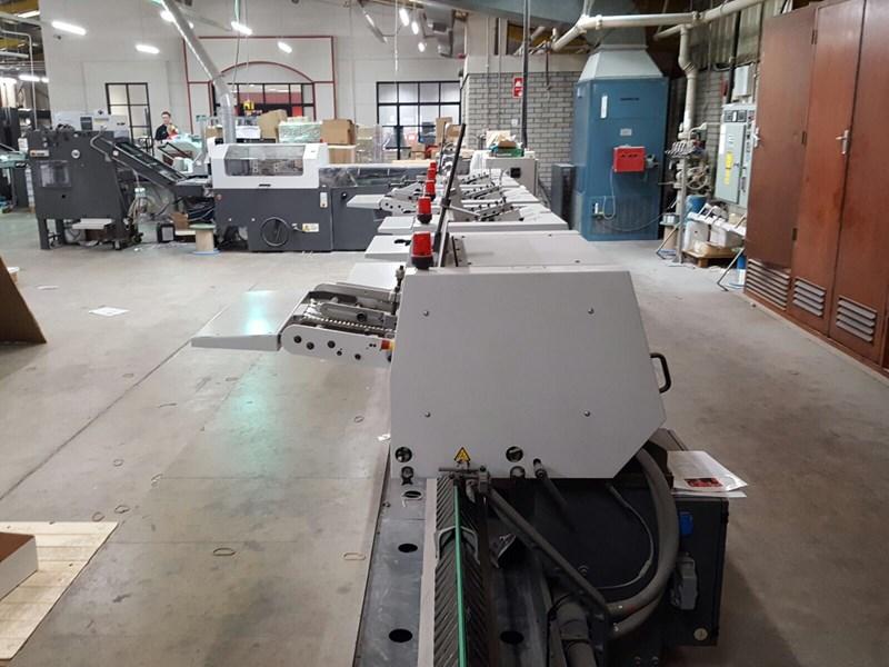 Heidelberg ST400 Saddle Binding Machine
