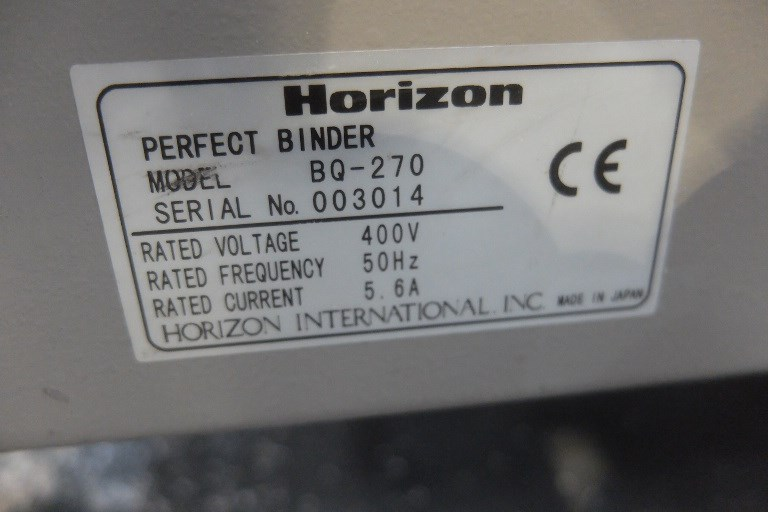 Horizon BQ - 270 Single Clamp Binder