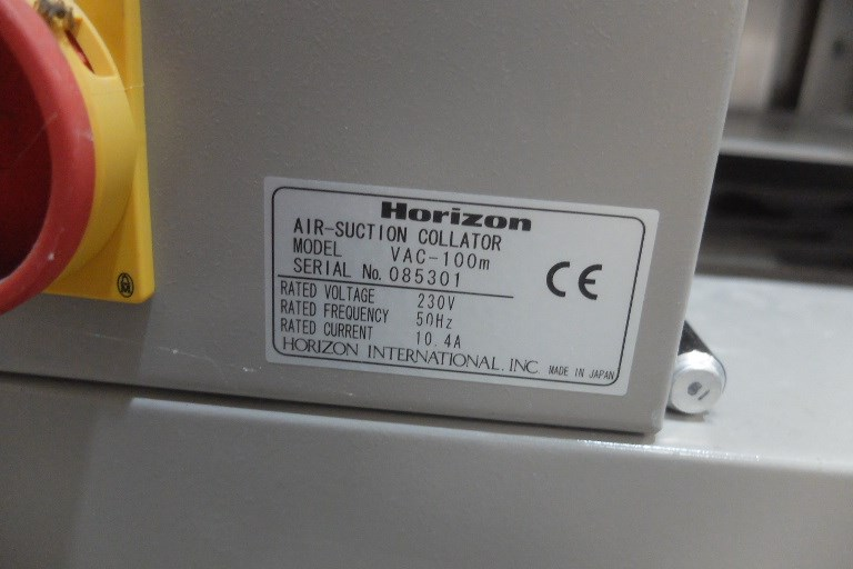 Horizon Vac 100A Collator