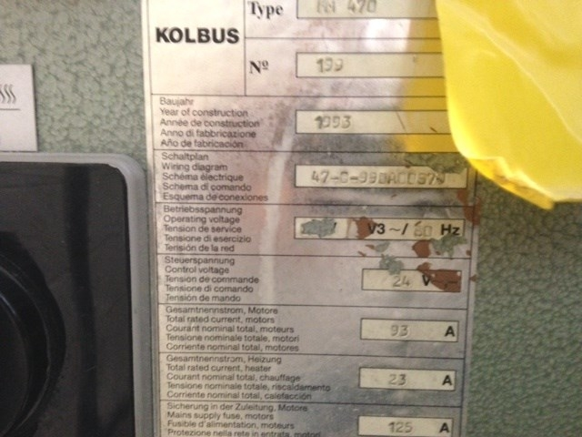 Kolbus KM 470 Perfect Binder
