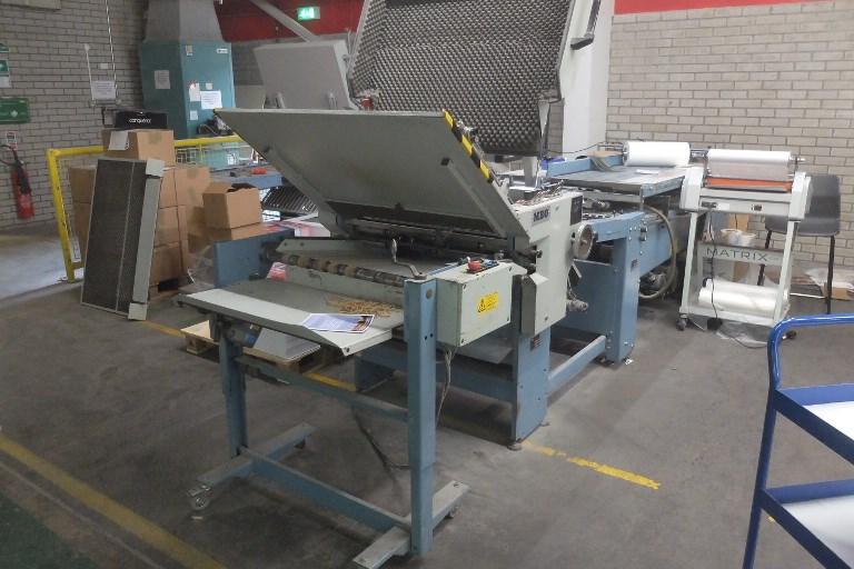 MBO B30 Fully Automatic Folding Machine 4/4/4