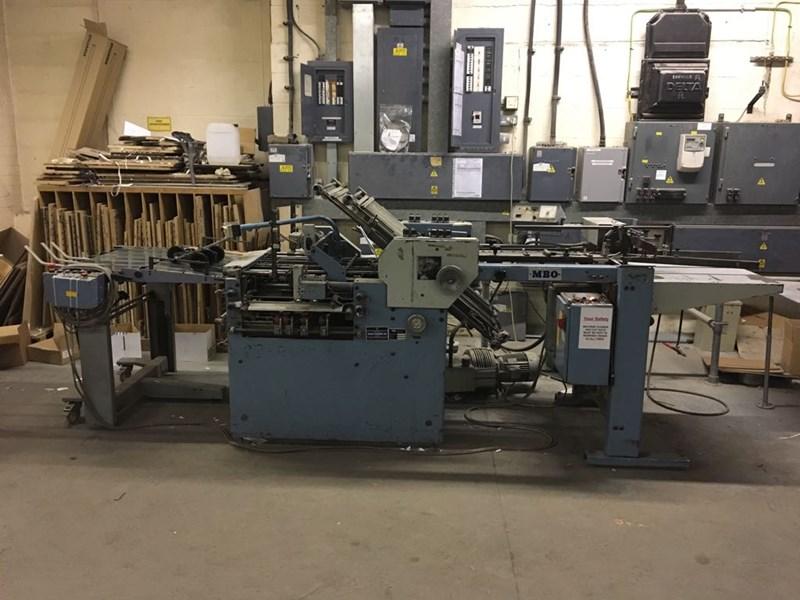 MBO K52 4KTL Fully Automatic Folding Machine