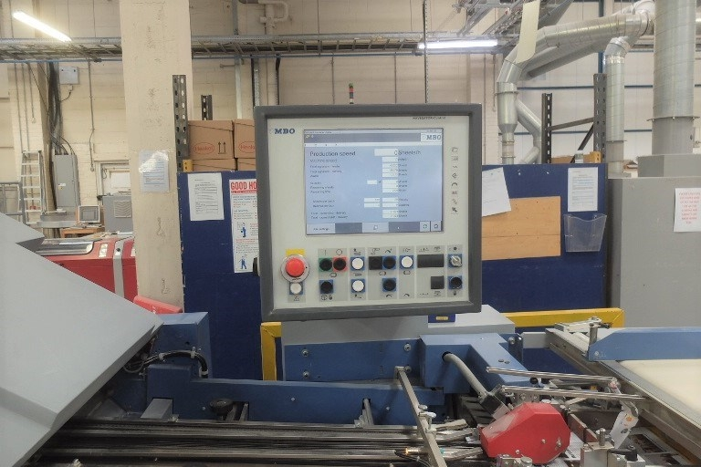 MBO K800 2SKTLT 6 Fully Automatic Folding Machine with Navigator Control