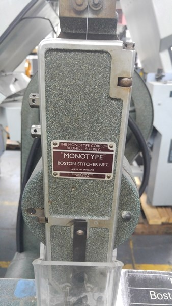 Monotype No.7 Single Headed Stitcher