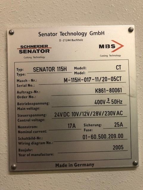 Schneider Senator 115 H Fully Programmatic Guillotine