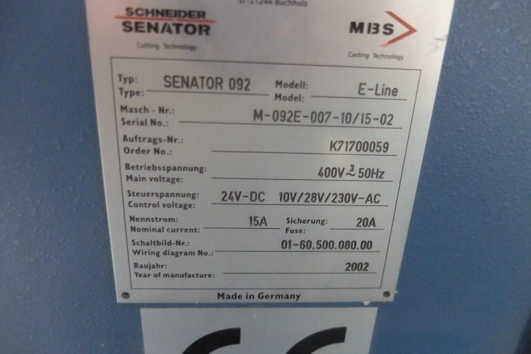 Schneider Senator 92 E Programmatic Guillotine