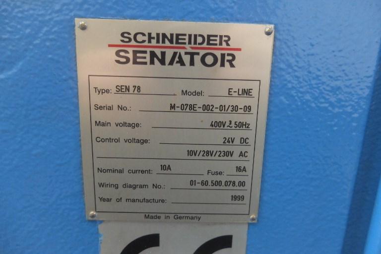 Schneider Senator 78 E Line Programmatic Guillotine