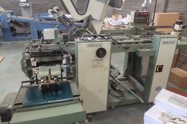 Shoei Star K52 Folding Machine