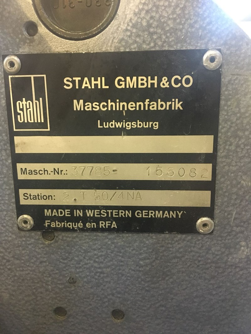 Stahl T50 4/4 Fully Automatic Folding Machine