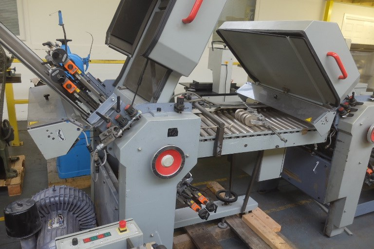 Stahl T1 52 4.4 Fully Automatic Folding Machine