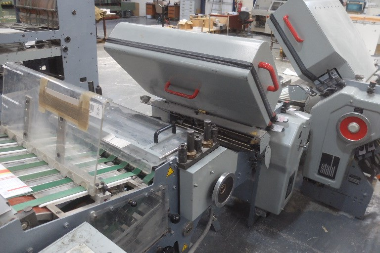Stahl TD 56 Folding Machine