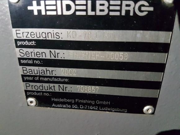 Heidelberg Stahl KD78/4KTL