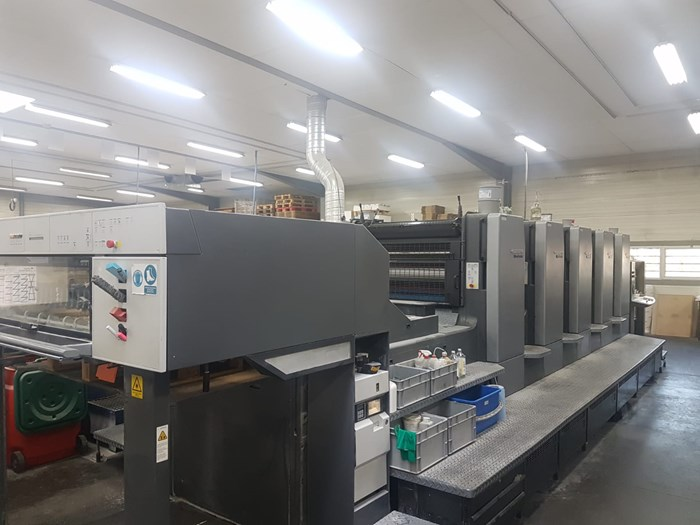 Heidelberg SM 102 5P  5 Colours  - Year 2002